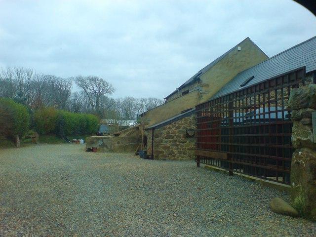 Outbuildings at Rickeston Hall
