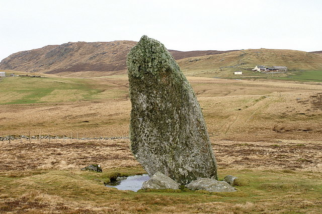Standing stone at Lund