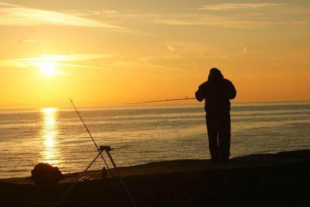 Saundersfoot sunrise