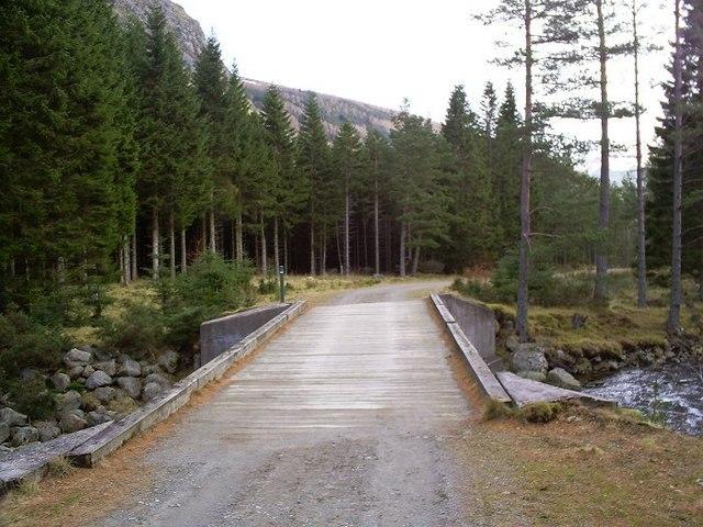 Bridge over White Water, Glen Doll