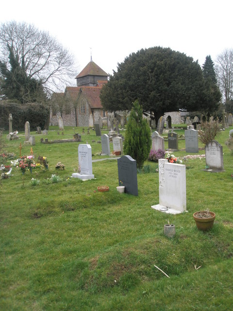 Graves in Ropley Churchyard