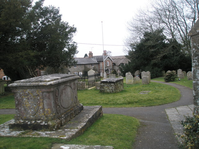 Tomb in Ropley Churchyard