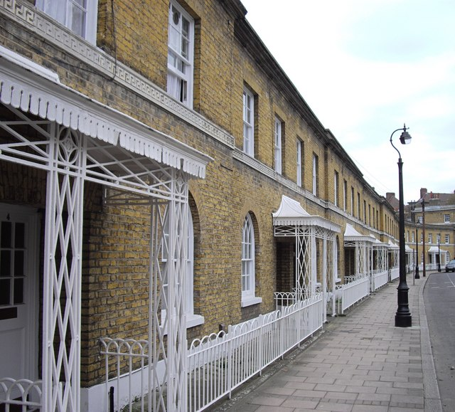Houses in Courtenay Street