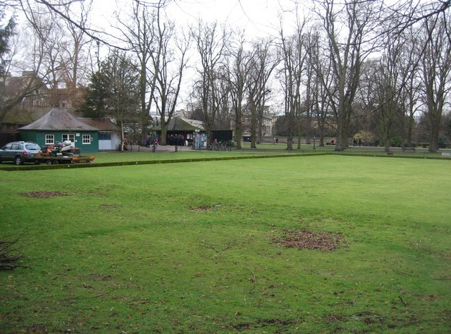 Bowling Green in winter