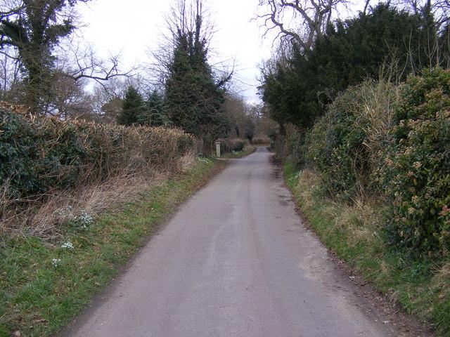 Church Road, Marlesford