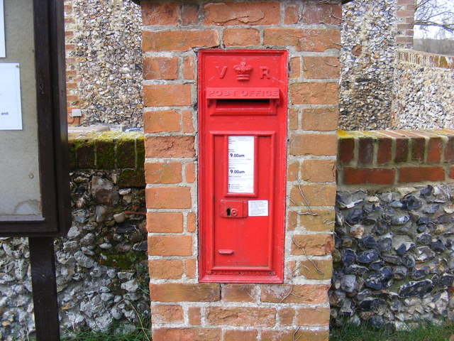 CO Church Street Victorian Postbox