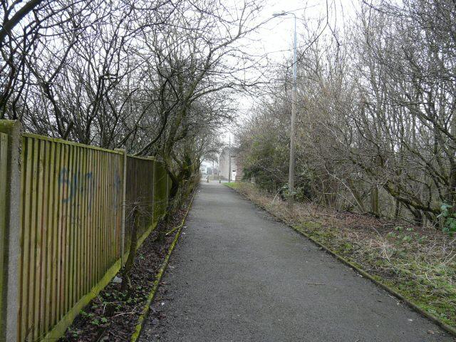 Footpath to John Street