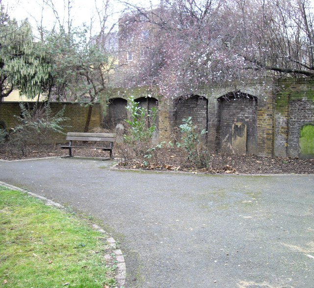 View within Lambeth High Street Recreation Ground