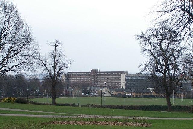 View From Hillsborough Hall, Hillsborough, Sheffield