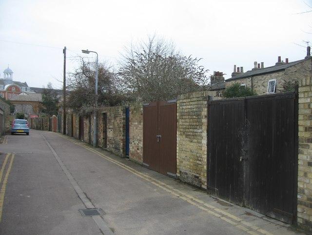 Eden Street Backway