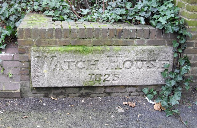 Stone 'Watch House 1825'