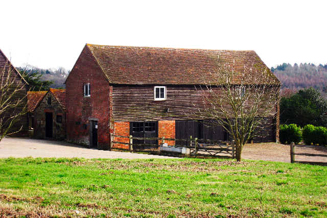 Farm Building at Beech Farm, Battle, East Sussex