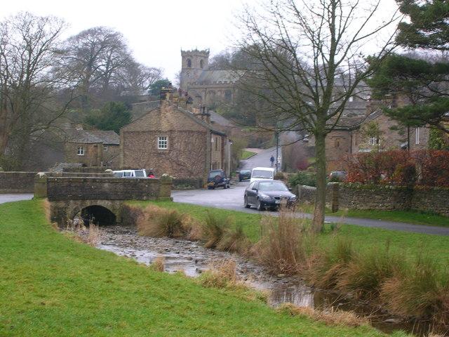Village scene: Downham