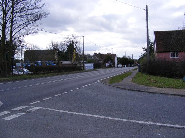Bell Lane, Marlesford
