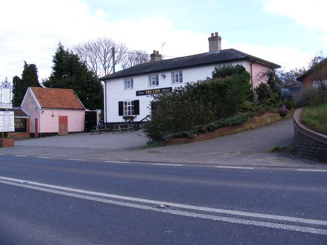 The Lion Inn Public House, Little Glemham