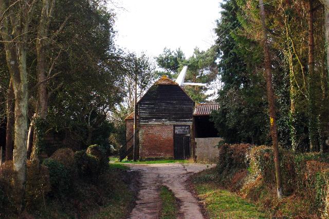Oast House at Hill Farm, Penhurst Hill, Penhurst, East Sussex