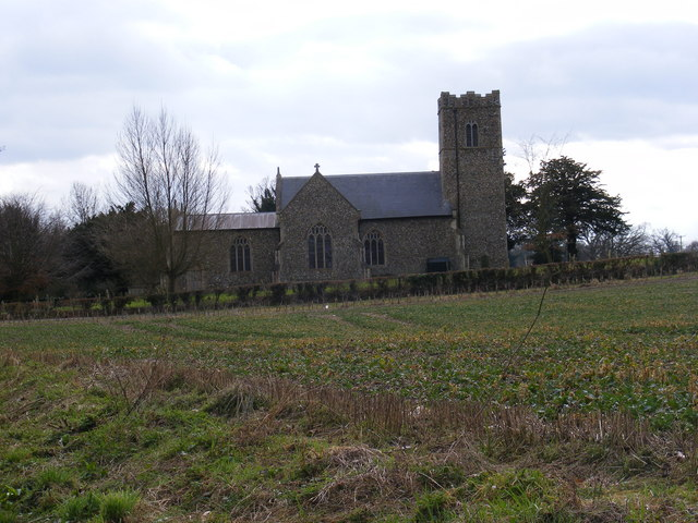 St.Mary's Church, Benhall