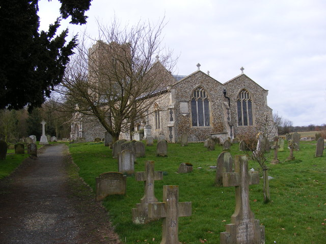 St.Mary's Church, Benhall