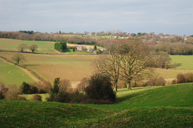View towards Kingswell Farm