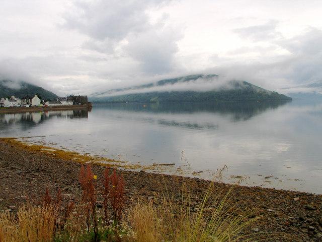 West bank of Loch Fyne near Inveraray