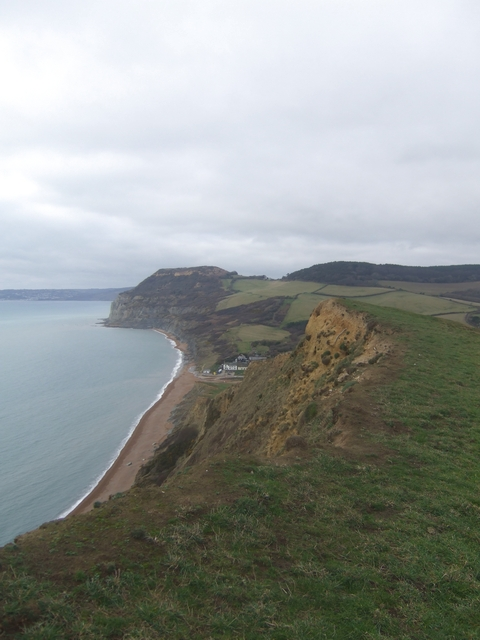 Ridge Cliff from the Monarch's Way
