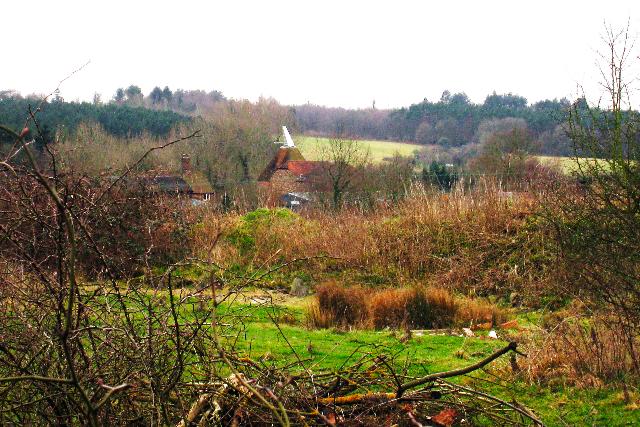 Hallwood Farm Oast, Hawkhurst Road, Cranbrook, Kent