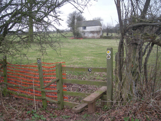 Stile along 'The Shropshire Way'