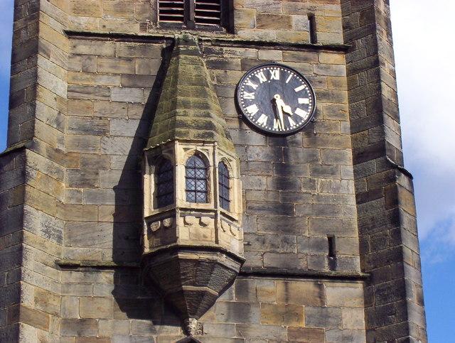 The Oriel Window - Royston Parish Church