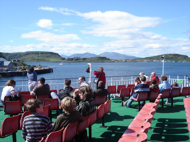View towards Kerrera from the Mull ferry