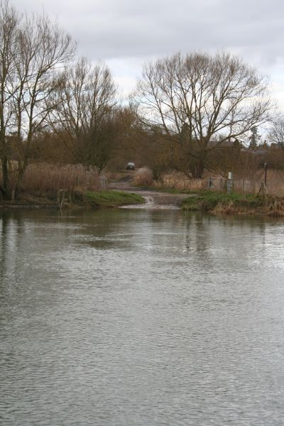 Ferry lane over the river