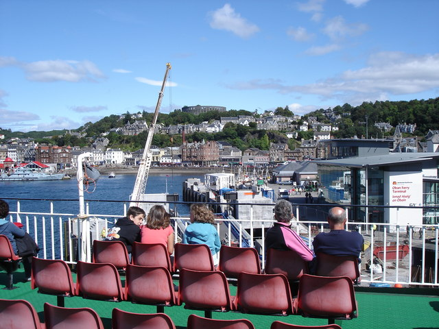 Oban - from the Mull ferry