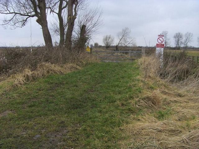 Ot Moor military firing range