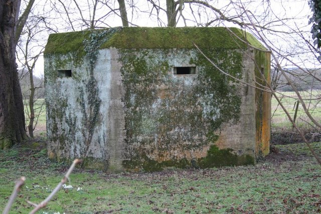 Pillbox in the garden
