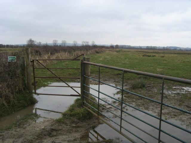 Bridleway across Ot Moor
