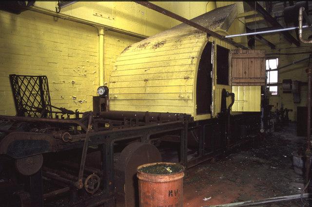 Cylinder sizing machine, Baitings Mill
