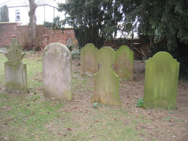 Gravestones in South View Cemetery