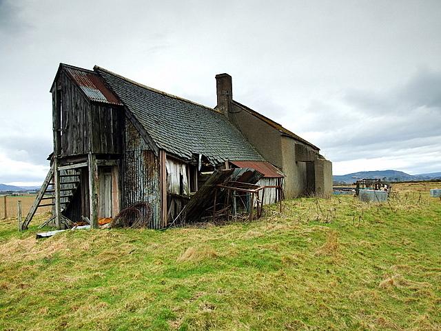 The Old Salmon Netting Station At Bonar Bridge