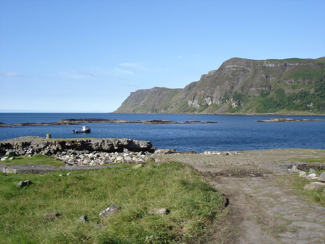 Carsaig Pier - looking south-west