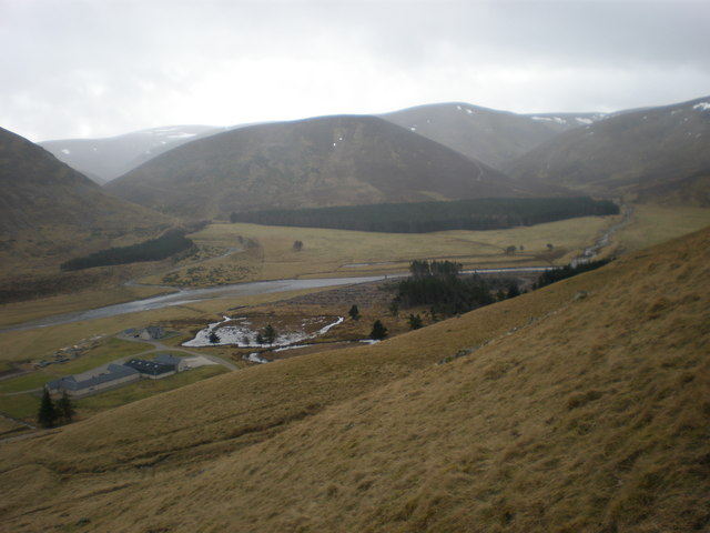 Looking South above Coignascallan