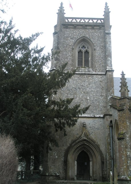 The church tower of St James's, East Tisted