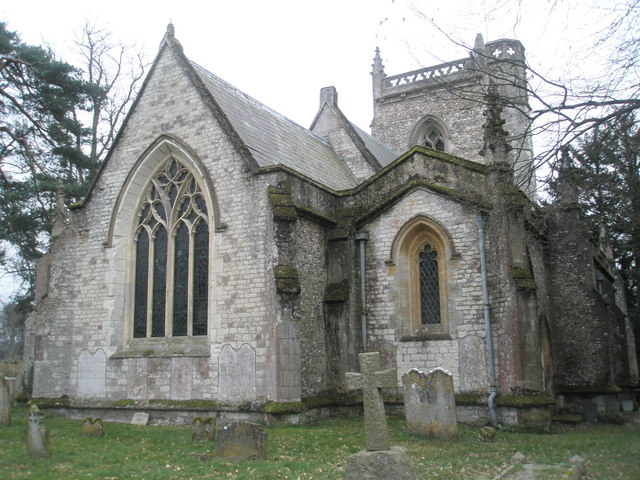 East side of St James's, East Tisted