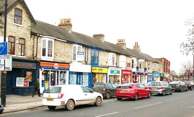 Acomb local shops