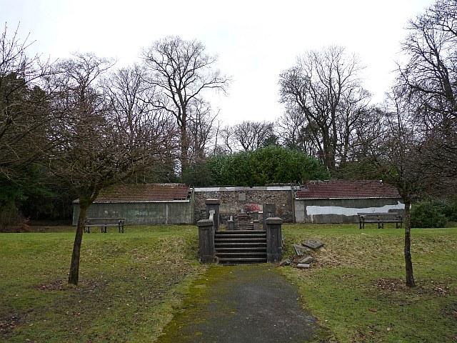 The Long Shelter, Bedwellty Park, Tredegar