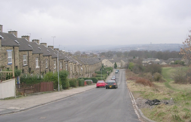 Oxford Road - viewed from Peel Park Drive