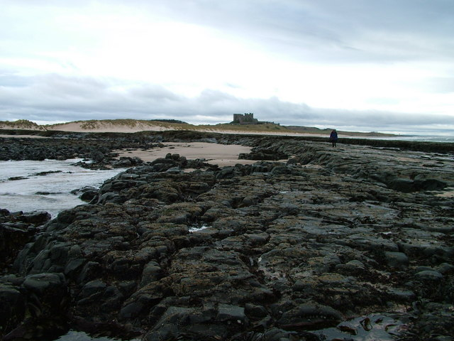 From the tip of the Islestone looking to the castle