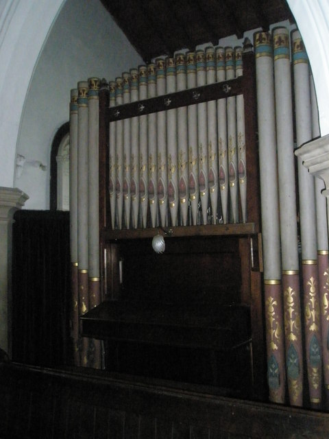 The organ at St James's, East Tisted