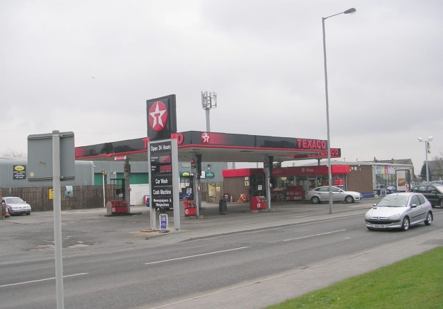 Texaco Filling Station - Killinghall Road