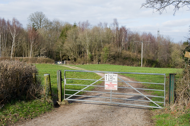 End of Hall Lands Lane