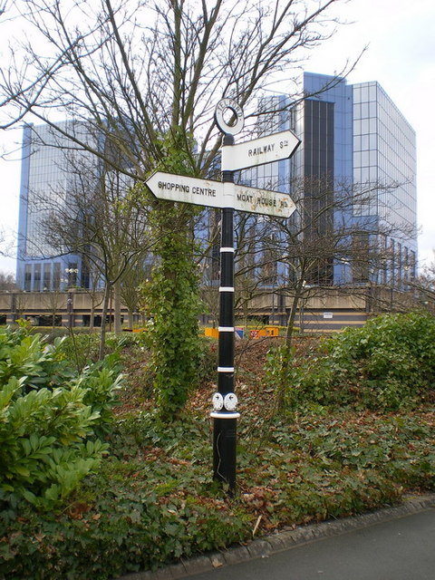 A 'Silkin Way' signpost
