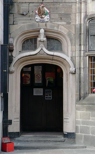 Doorway at the Giffard Arms, Wolverhampton